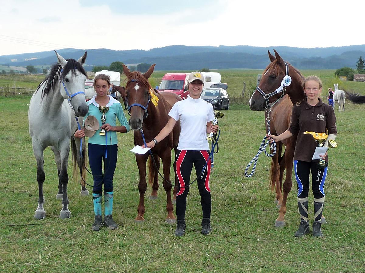 Preteky koní (august 2013)
